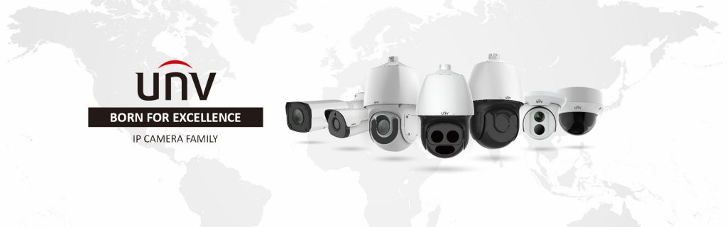 پروژه لاچین دوربین مداربسته Uniview