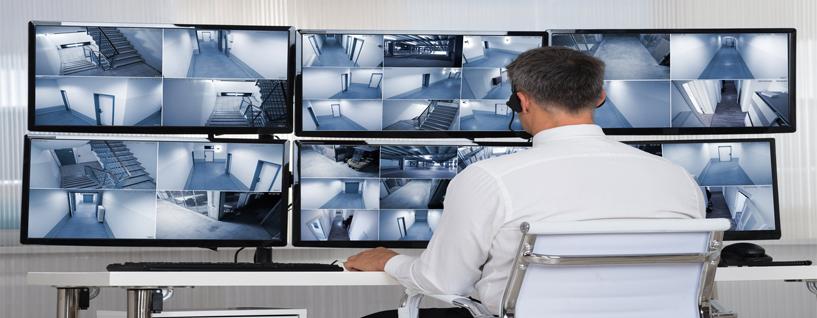 سیستم نظارت تصویری